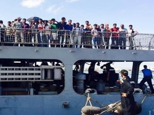Americans Fleeing Yemen Arrive in Djibouti on Indian ship