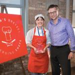 First Annual Emerging Chefs Winner: Joyce Mac of Le Cordon Bleu