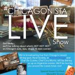 #ChicagonistaLIVE broadcasting live at #LoewsChicago!