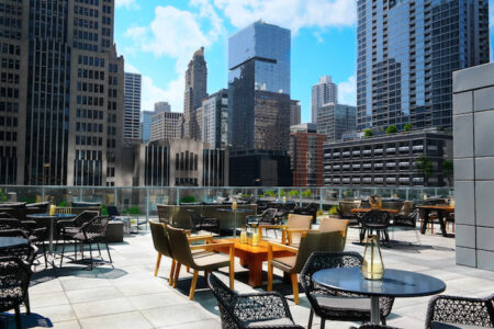 Streetervile Social at Loews Chicago Hotel