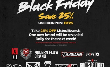 MMA Black Friday