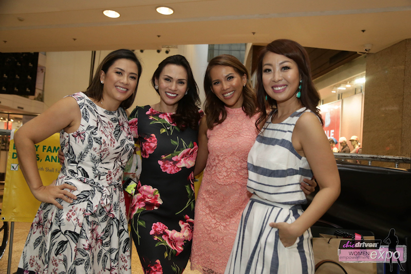 chicdriven-organizer-jeanette-tuason-issa-litton-with-host-jelli-victor-and-sam-oh