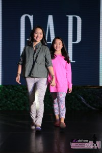 Jackie Ang-Po and daughter Kylie