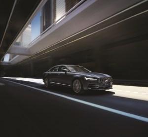 Volvo S90 China version exterior driving