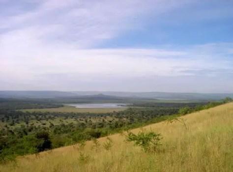 View from Kazuma Point, Lake Mburo National Park, Uganda