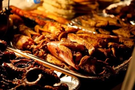 Street seafood, Stone Town, Zanzibar
