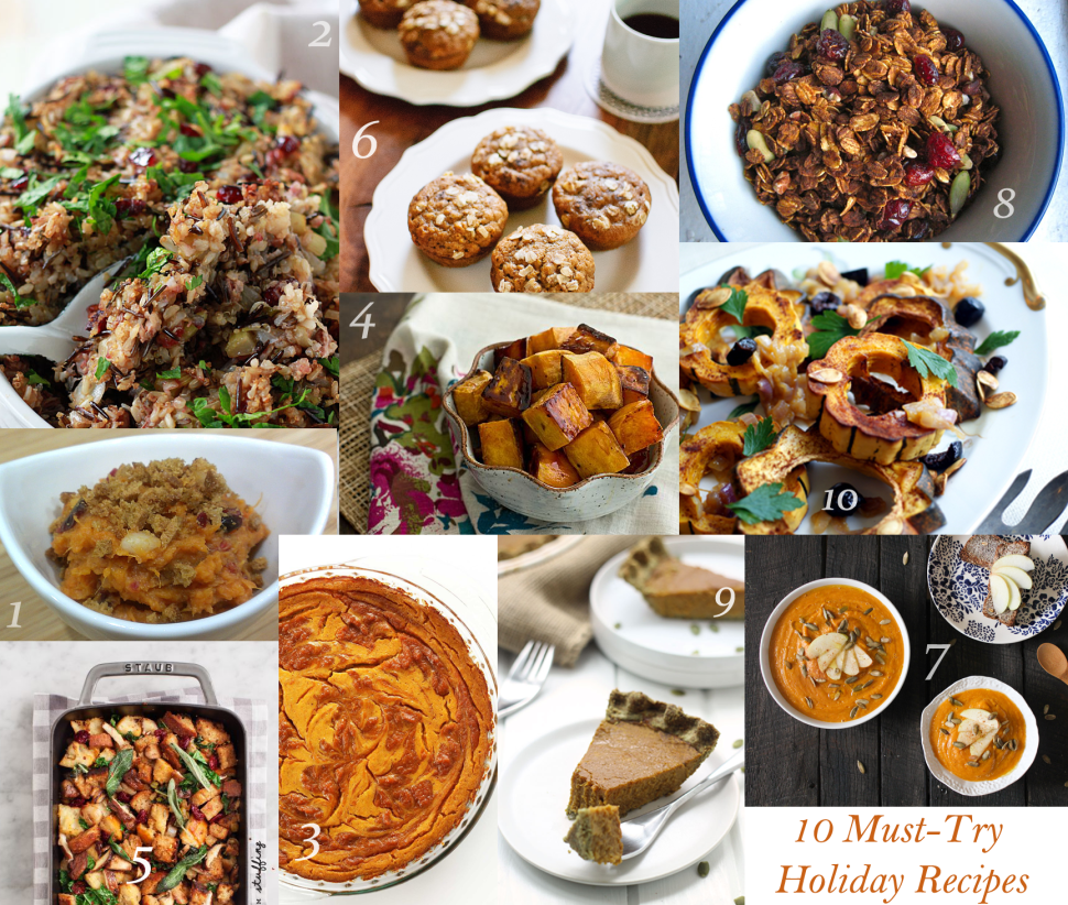 10 Must-try Holiday Recipes!