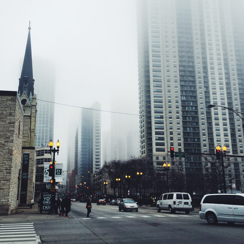 Chicago Foggy Day