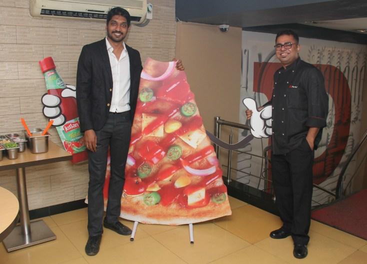 Mr. Sairam Krishnamurthy, Head of innovations, Kissan with Arjyo Banerje...