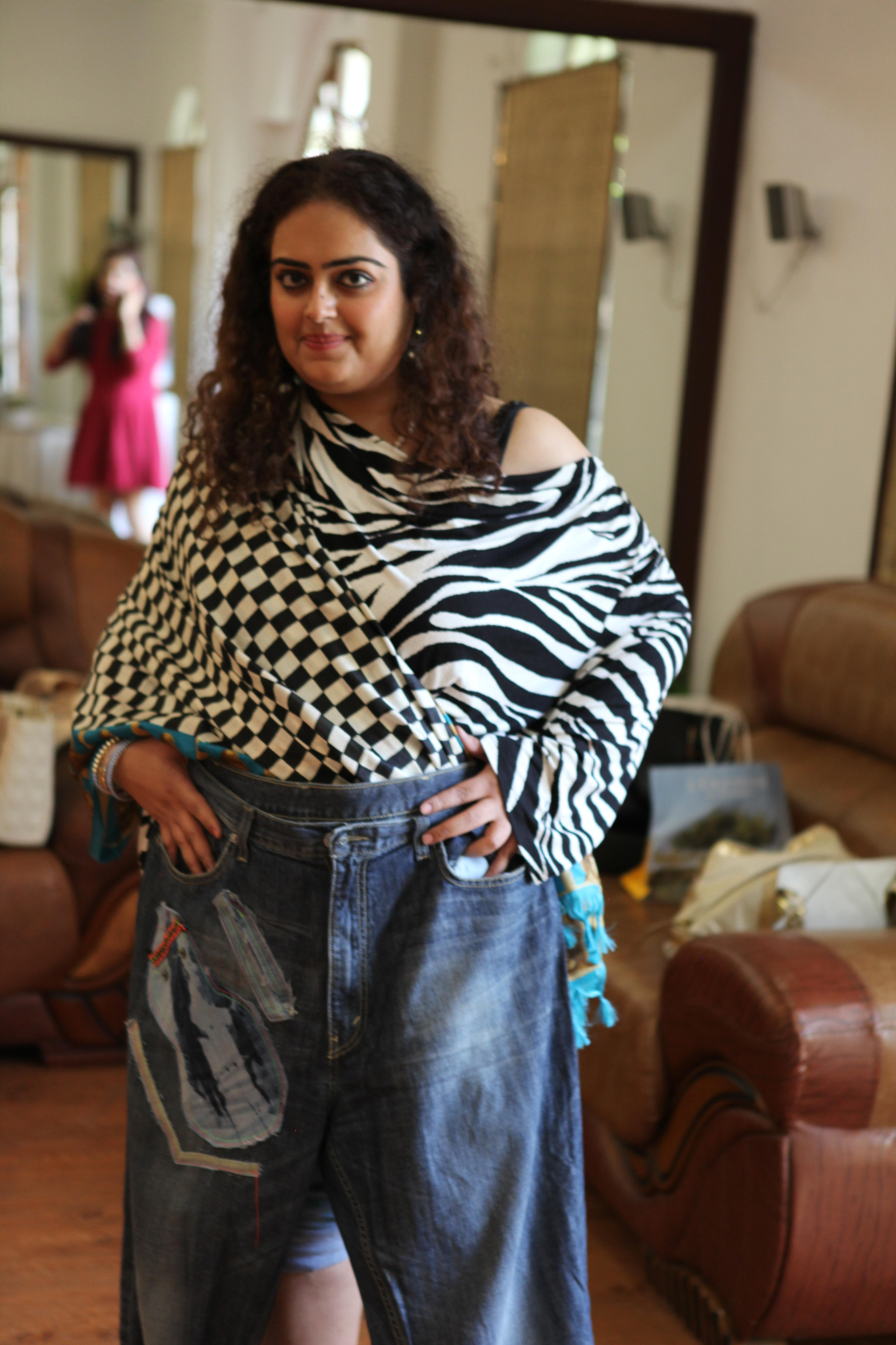 a jeans makeover by iml chiclifebyte all girls love denims in and abroad so internationally too the market is ready for the denim makeover syndrome some materials had shimmer and wax