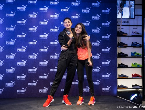 PUMA Training Ambassador Jacqueline Fernandez does a role reversal to style celebrity stylist