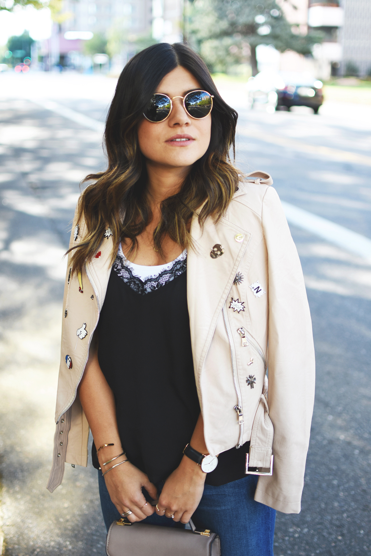THE FAUX LEATHER JACKET YOU NEED THIS FALL