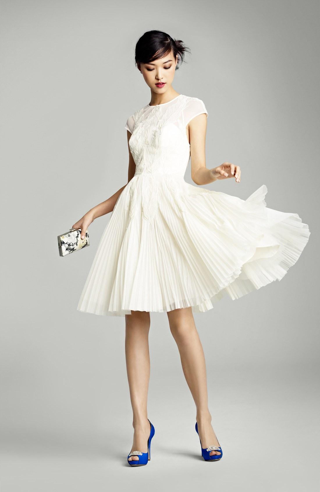 20 incredible wedding dresses modcloth wedding dresses Ted Baker Wedding Dress