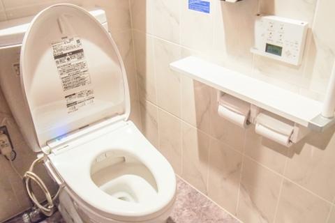 バリウム トイレ 流れない