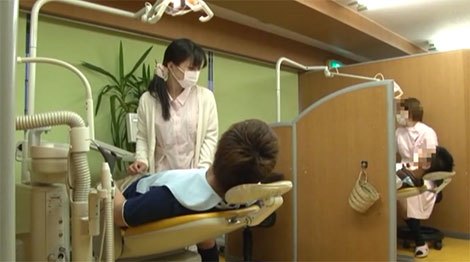 リアル歯医者で撮影!?