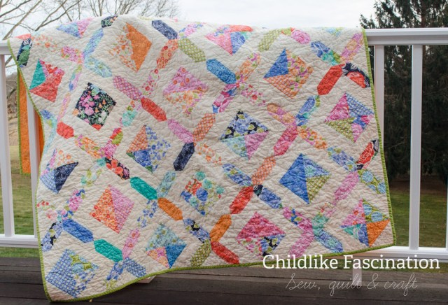 Quilts love hanging on railings