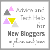 Advide & Tech help for new Quilt Bloggers @
