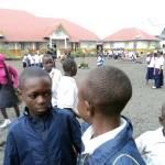 Cour du centre Virunga de CV à Goma