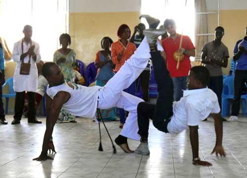 Démonstration de capoeira