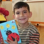 تلقى محمد ذو الـ 4 سنوات شهادة مدرسية أيضاً