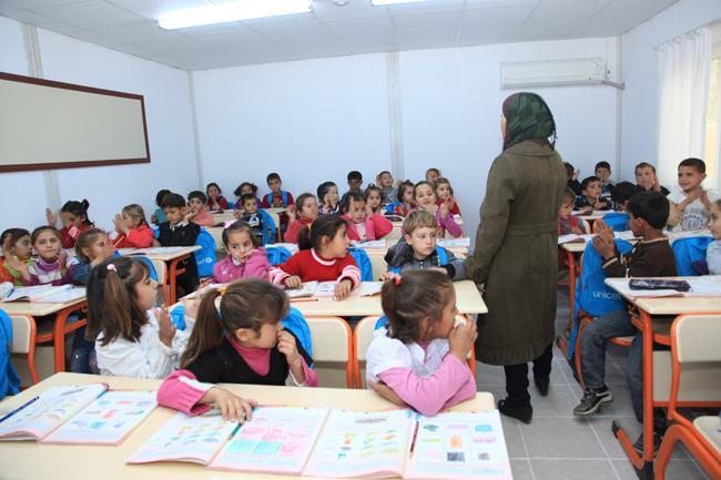 تقدم المدرسة الجديدة بيئة تعليمية أفضل وصحية أكثر