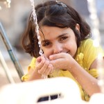 Water cuts add to the daily challenge of survival for Aleppo's children