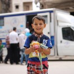 In east Aleppo, clinics on wheels keep children healthy