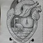 تشارك اليونيسف بنشر ألبوم رسومات من دوما