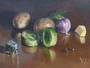 'Potato and Leek' by Dave West