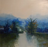 'A selection of Blue' by Kate Beagan at the Chimera Gallery, Mullingar, Co Westmeath, Ireland