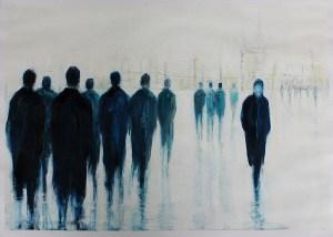 'Self acceptance' (ii) by Lesley Oldaker