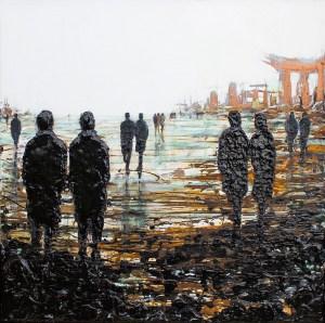 'Urban Remains' by Lesley Oldaker