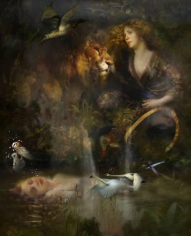 'Water under no bridge' by Iva Troj at the chimera gallery, Mullingar, Co Westmeath, Ireland