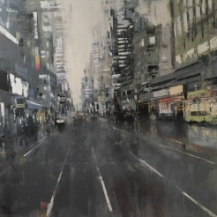 'Grey New York' by Jose Martinez at the Chimera Gallery, Mullingar, Co Westmeath, Ireland