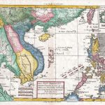 1780 Raynal and Bonne Map of Southeast Asia and the Philippines