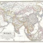 1844 Spruneri Map of Asia in the 15th and 16th Centuries (Ming China)