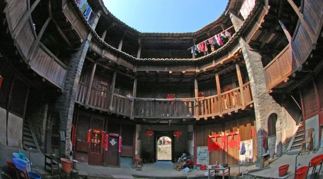85 images of the Ancient Earthen Castles in Tulou, Fujian