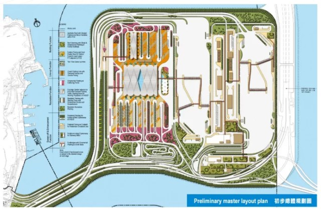 HKBCF Site Selection At North East of Hong Kong International Airport