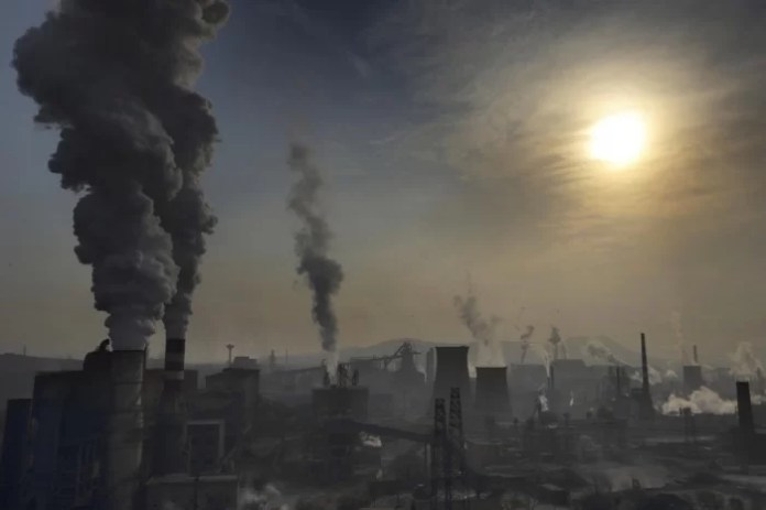 most polluted cities in China
