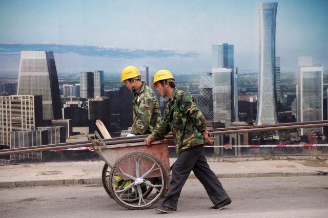 Chinese workmen