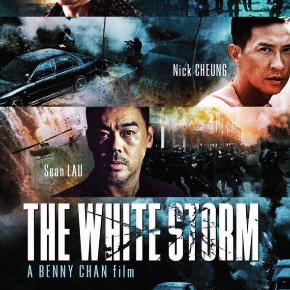 """Poster for the movie """"The White Storm"""""""