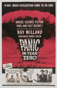 """Poster for the movie """"Panic in Year Zero!"""""""