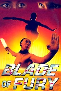 "Poster for the movie ""Blade of Fury"""