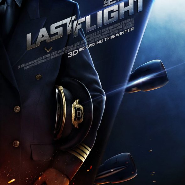 "Poster for the movie ""Last Flight"""