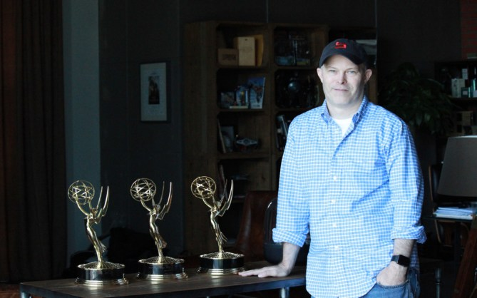 Christopher Bremble, CEO of Oscar-nominated Base FX, the Beijing-based special effects company he founded in 2006 and led to winning Emmys in 2010, 2011, and 2014.
