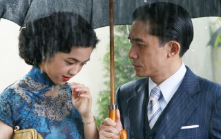 Lust, Caution, starring Tang Wei (L) and Tony Leung Chiu-wai was heavily censored and earned Tang a two-year ban from China's film industry.