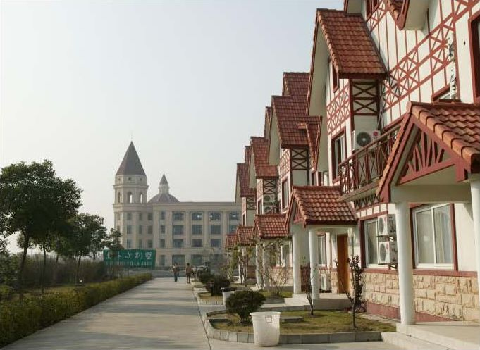University dorm in china