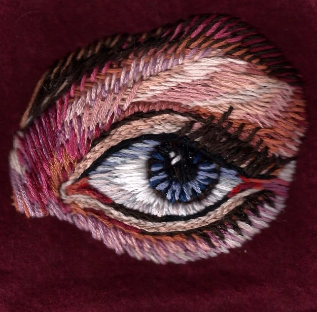 Lover's Eye Embroidery by Suzanne Forbes Nov. 2015