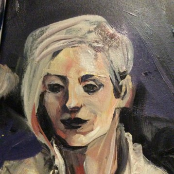 WIP Portrait Jo Pollux by Suzanne Forbes Sept 24 2017
