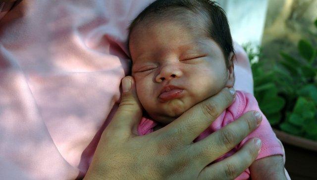 Mama con bebe prematuro